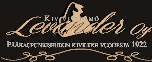 Kiviveistämö Levander Logo.