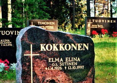 4) Mäntsälän punainen 60/50x60x15cm. Hinta 1175.- (norm.1470.-)