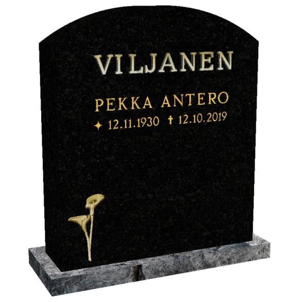 Hautakivi Kalla 2 on Varpaisjärven musta hautakivi. Hautakiveen nimi ja aikatiedot kullattu.