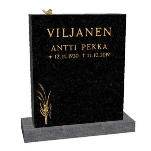 Hautakivi Viljantähkä on Varpaisjärven musta hautakivi. Hautakiven päällä on pronssivarpunen ja vasemmassa alareunassa viljantähkä.