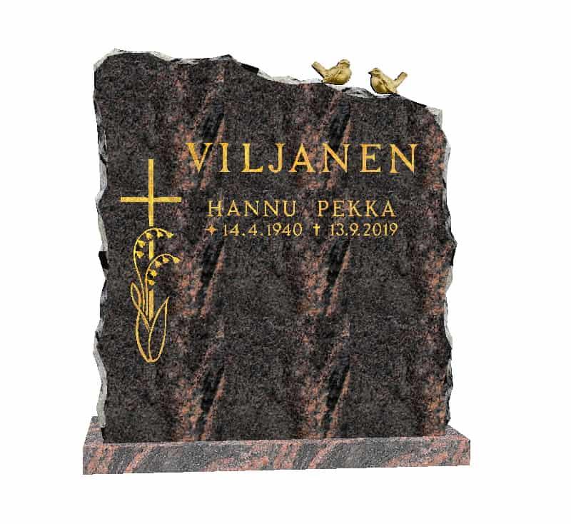 Hautakivi Lintupari on Mäntsälän punainen hautakivi, jossa on kaksi pronssivarpusta ja vasemmalla puolella risti.