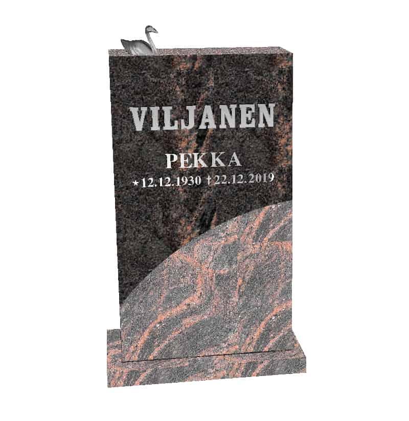 Hautakivi Aalto 2 on Mäntsälän punainen hauakivi, jossa on joutsenpatsas kromattua pronssia.