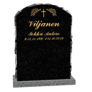 Hautakivi Elämänkaari on Varpaisjärven musta hautakivi. Hautakiven etupinta kiillotettu.