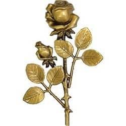 6) Pronssinen ruusukoriste