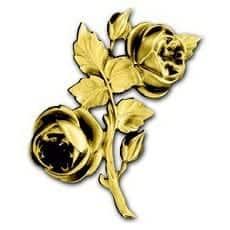 10) Pronssinen ruusukoriste
